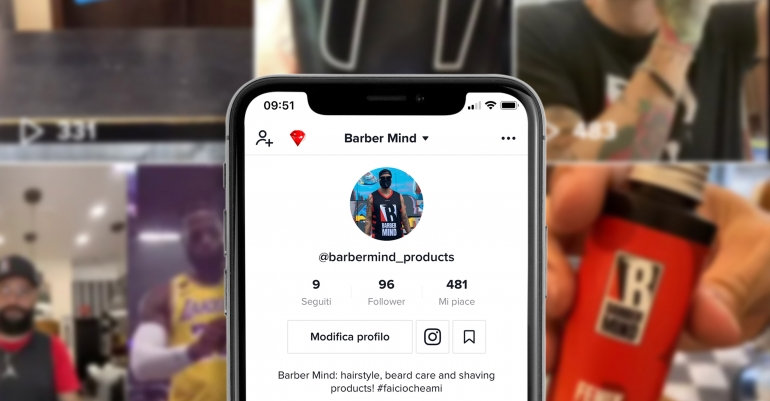 Barber Mind e Tik Tok