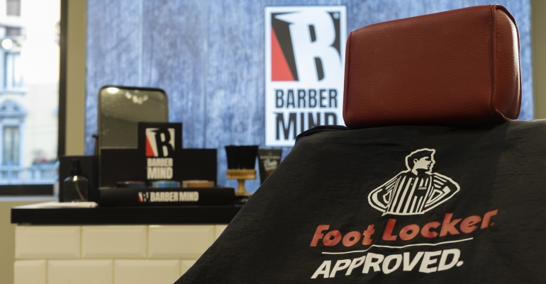 Barber Mind: Foot Locker #approved
